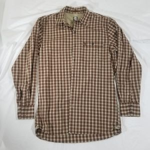 Timberland long sleeve button up shirt